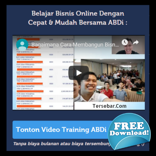 DOWNLOAD GRATIS 10 VIDEO AKADEMI BISNIS DIGITAL MARKETING 1