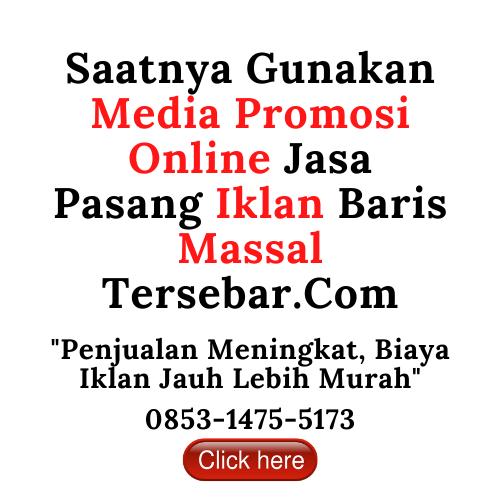 Media Promosi Online Jasa Pasang Iklan Baris Massal Tersebar-Com