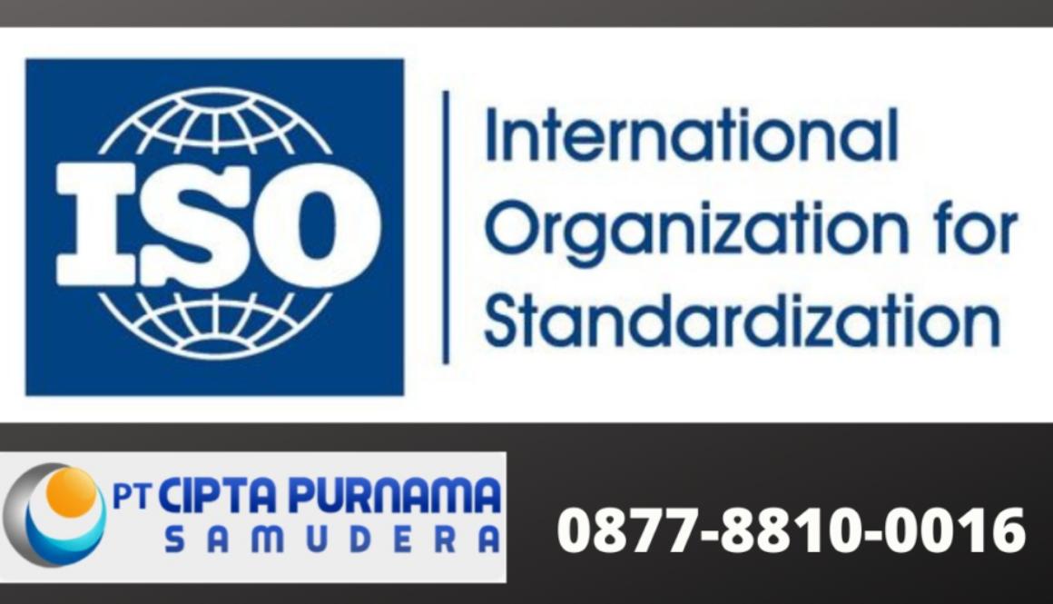 jasa konsultan sertifikasi ISO