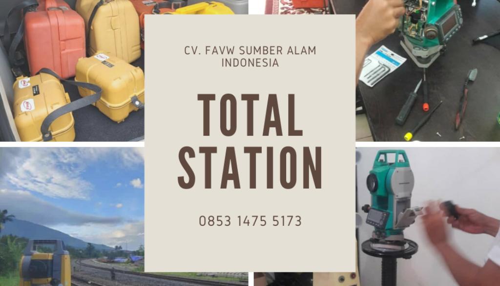 Jual Dan Service Alat Ukur Tanah Total Station Terbaik Untuk Perusahan Swasta, BUMN Pemerintah, Sekolah, Universitas Kejuruan Di Yogyakarta