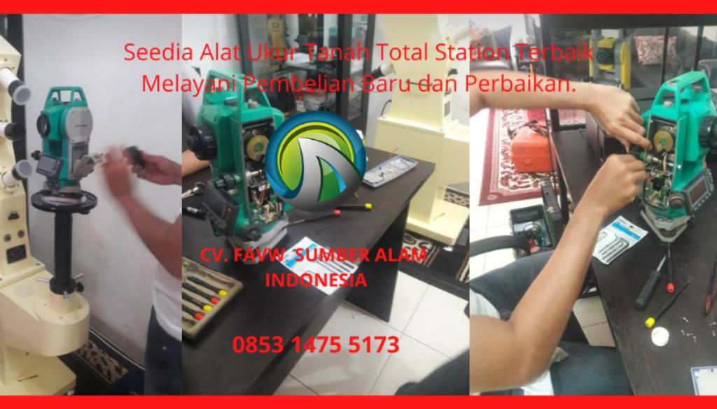 Jual Dan Service Alat Ukur Tanah Total Station Terbaik Untuk Perusahan Swasta, BUMN Pemerintah, Sekolah, Universitas Kejuruan Di Kalimantan Tengah