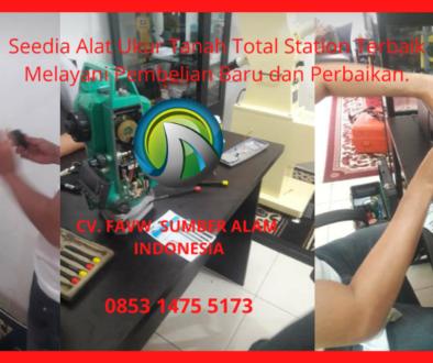 Jual Dan Service Alat Ukur Tanah Total Station Terbaik Untuk Perusahan Swasta, BUMN Pemerintah, Sekolah, Universitas Kejuruan Di Kupang
