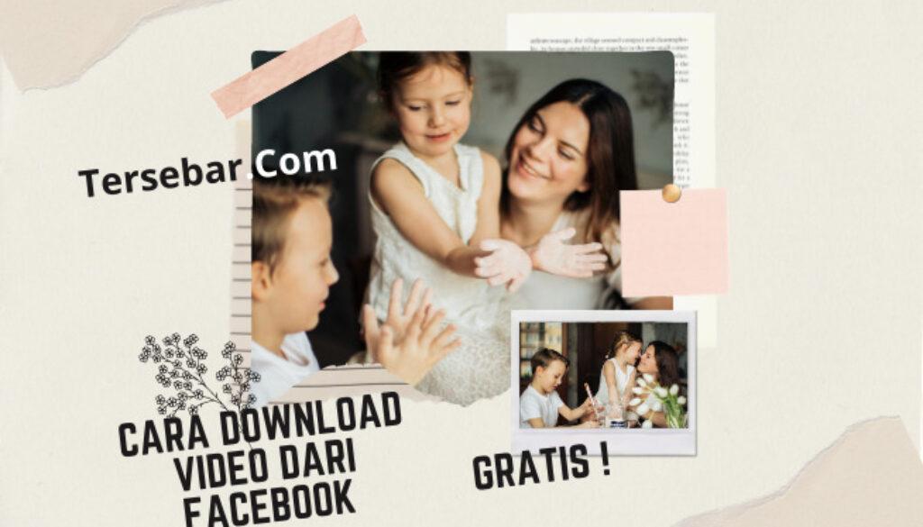 cara download video dari faacbook tanpa aplikasi